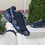 Мужские кроссовки Salomon Speedcross 3 (черные) 10098, фото 2