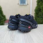 Мужские кроссовки Salomon Speedcross 3 (черные) 10098, фото 3