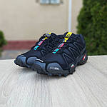 Мужские кроссовки Salomon Speedcross 3 (черные) 10098, фото 4