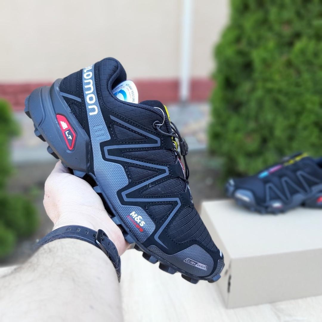 Мужские кроссовки Salomon Speedcross 3 (черные) 10099