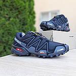 Мужские кроссовки Salomon Speedcross 3 (черные) 10099, фото 2
