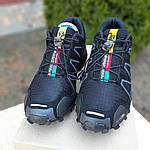 Мужские кроссовки Salomon Speedcross 3 (черные) 10099, фото 5