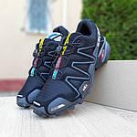 Мужские кроссовки Salomon Speedcross 3 (черные) 10099, фото 9