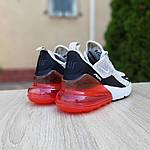 Женские кроссовки Nike Air Max 270 (серо-черные) 20085, фото 2