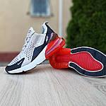 Женские кроссовки Nike Air Max 270 (серо-черные) 20085, фото 4