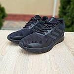 Мужские кроссовки Adidas Nova Run X (черные) 10109, фото 8