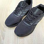 Мужские кроссовки Adidas Nova Run X (черные) 10109, фото 9