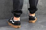 Мужские кроссовки Vans (черно-коричневые) 9266, фото 3