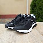 Чоловічі кросівки Reebok Harmony Road 3 (чорно-білі) 10112, фото 2