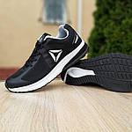 Чоловічі кросівки Reebok Harmony Road 3 (чорно-білі) 10112, фото 5