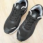 Мужские кроссовки Reebok Harmony Road 3 (черно-белые) 10112, фото 9