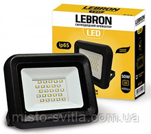 Прожектор светодиодный 30W 6200K Lebron Леброн