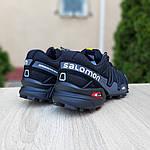 Мужские кроссовки Salomon Speedcross 3 (черные) 10099, фото 3