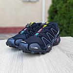 Мужские кроссовки Salomon Speedcross 3 (черные) 10099, фото 6