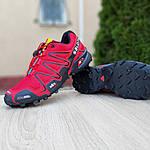 Мужские кроссовки Salomon Speedcross 3 (красные) 10100, фото 3