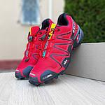 Мужские кроссовки Salomon Speedcross 3 (красные) 10100, фото 5