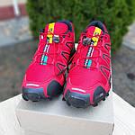 Мужские кроссовки Salomon Speedcross 3 (красные) 10100, фото 6
