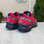 Мужские кроссовки Salomon Speedcross 3 (красные) 10100, фото 9