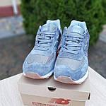 Замшевые мужские кроссовки New Balance 574 (серые) 10104, фото 8