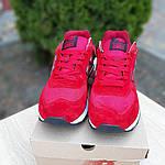 Замшевые мужские кроссовки New Balance 574 (красные) 10107, фото 8