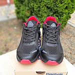 Мужские кроссовки Reebok Harmony Road 3 (черно-красные) 10110, фото 5
