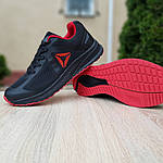 Мужские кроссовки Reebok Harmony Road 3 (черно-красные) 10110, фото 6