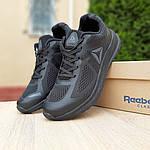 Мужские кроссовки Reebok Harmony Road 3 (черные) 10111, фото 6