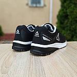 Мужские кроссовки Reebok Harmony Road 3 (черно-белые) 10112, фото 6