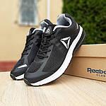 Мужские кроссовки Reebok Harmony Road 3 (черно-белые) 10112, фото 8