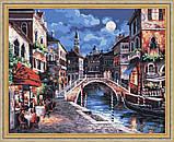 Картина по номерам «Ночная Венеция» 350-CG  Белоснежка  40x50, фото 7