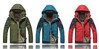 Мужская куртка 2 в 1 JACK WOLFSKIN XL-4XL. Куртки. Верхняя одежда. Мужские модные куртки. Код: КСМ226