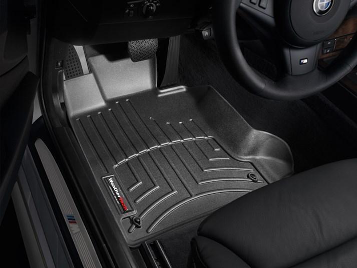 Ковры резиновые WeatherTech BMW  5-Series (E60/E61) 2004-2010 передние черные
