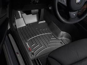 Килими гумові WeatherTech BMW 5-Series (E60/E61) 2004-2010 передні чорні