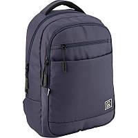 Школьный рюкзак для мальчика GoPack City GO20-143L-1 серый
