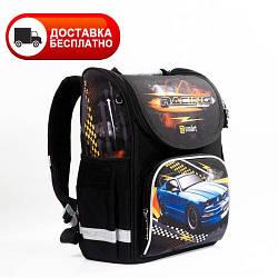 Рюкзак школьный каркасный SMART PG-11 Racing 556012