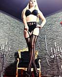Женские колготки с имитацией чулок Размер 1 Чёрный 20 Den КОД ТОВАРА 100-001, фото 5