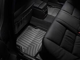 Килими гумові WeatherTech BMW 5-Series (E60/E61) 2004-2010 задні чорні