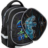 Школьный рюкзак Kite K20-700M(2p)-3 Dino and skate со сменной панелью