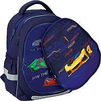 Школьный рюкзак Kite K20-700M(2p)-4 Fast cars со сменной панелью