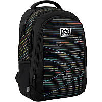 Рюкзак молодежный для девушки GoPack Education GO20-133M-2 Stripes