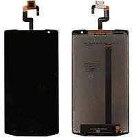 Oukitel K10000 модуль дисплей в зборі з тачскріном чорний