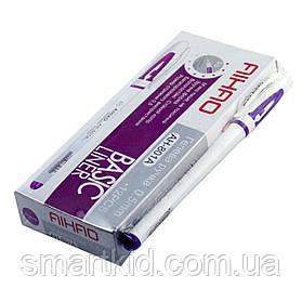 Ручка гелева AIHAO 801-A 0,5 mm фіолетова