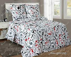 Ткань для постельного белья, бязь белорусская Леон