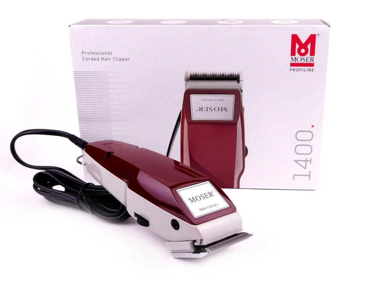 Машинка для стрижки Moser 1400 Burgundy 1400-0278