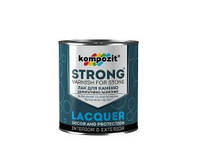 Лак-грунтовка для камня Kompozit Strong 0,9 л