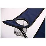 Стул раскладной туристический синий+чехол, фото 3