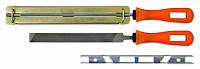 Набор для заточки ленточных пил Technics 2 напильника 2 направляющие Арт.42-325