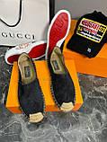 Эспадрильи мужские Valentino D6898 черные, фото 6
