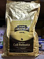 Вьетнамский натуральный Кофе в зернах Trung Nguyen Culi Robusta 3кг  (Вьетнам)