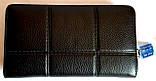 Мужской клатч, портмоне Philip Plein из натуральной кожи на молнии и с ремешком на руку 21*12 см, фото 2